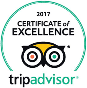 Tripe Advisor certificate of excellence